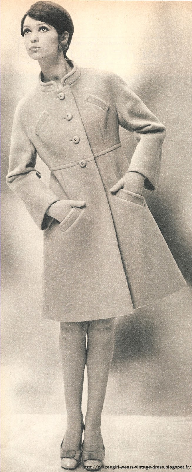 1967 coat crazee fashion 1960 60s twiggy