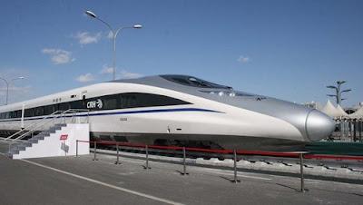 CRH380A, China