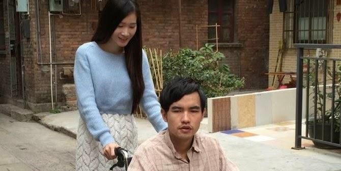 Pria Cacat ini menikahi seorang wanita cantik hanya 3 hari
