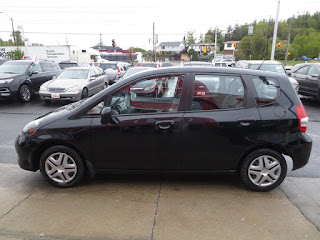 Honda Fit model value in used car market 45646
