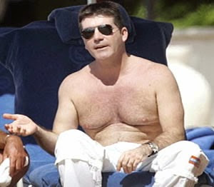 Simon Cowell fat funny douchebag