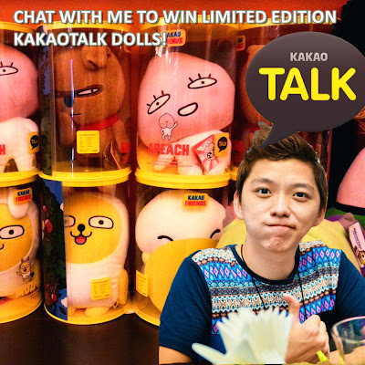 WIN LIMITED EDITION KAKAOTALK DOLLS FROM ME TOMORROW!!