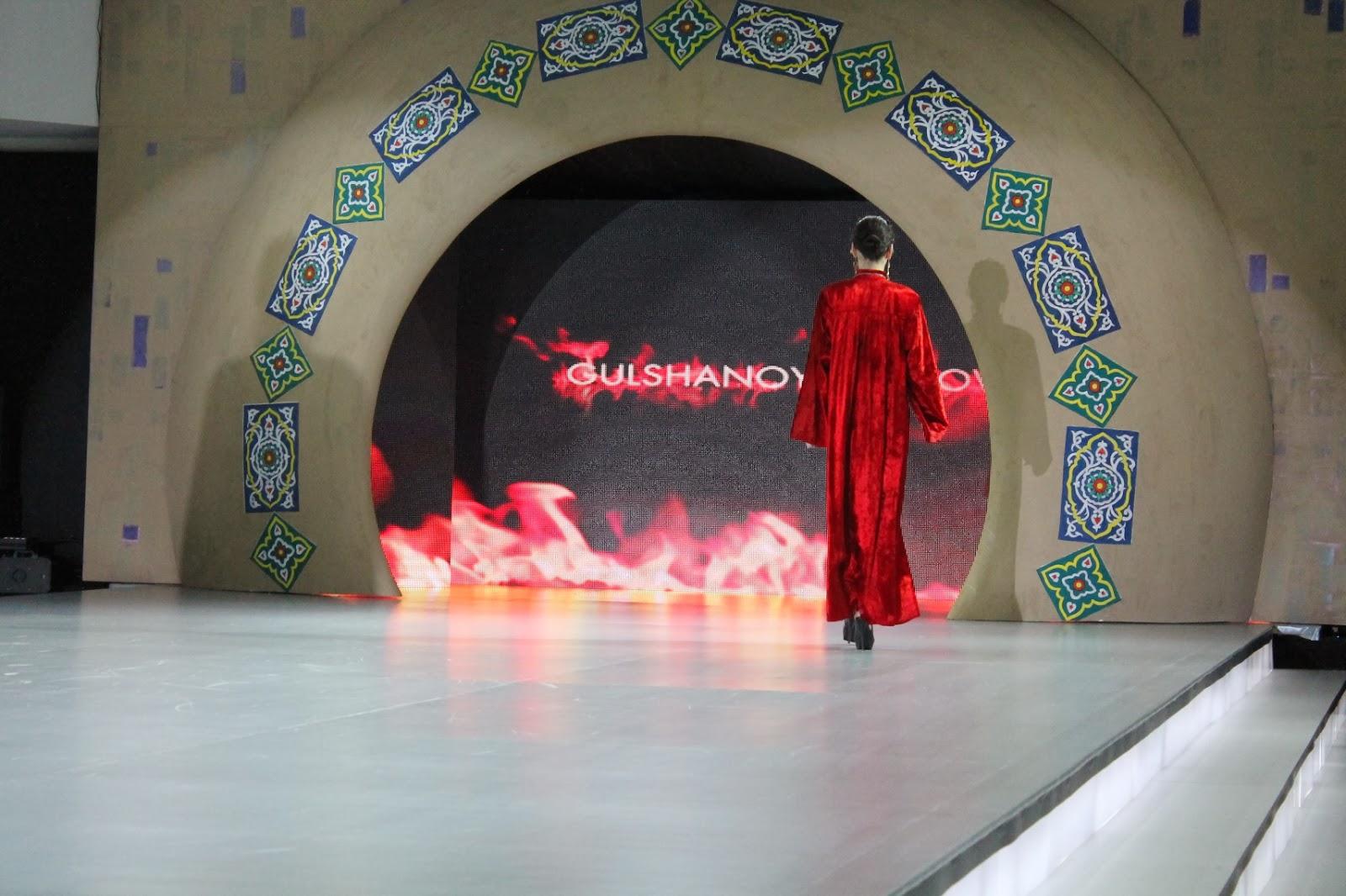 Style Uz National Dress Festival Uzbek Khan Atlas And Adras