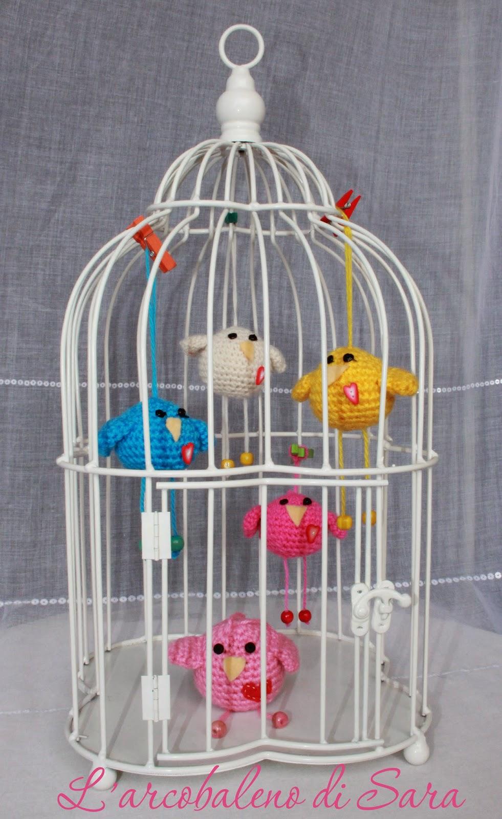 tutorial crochet bird