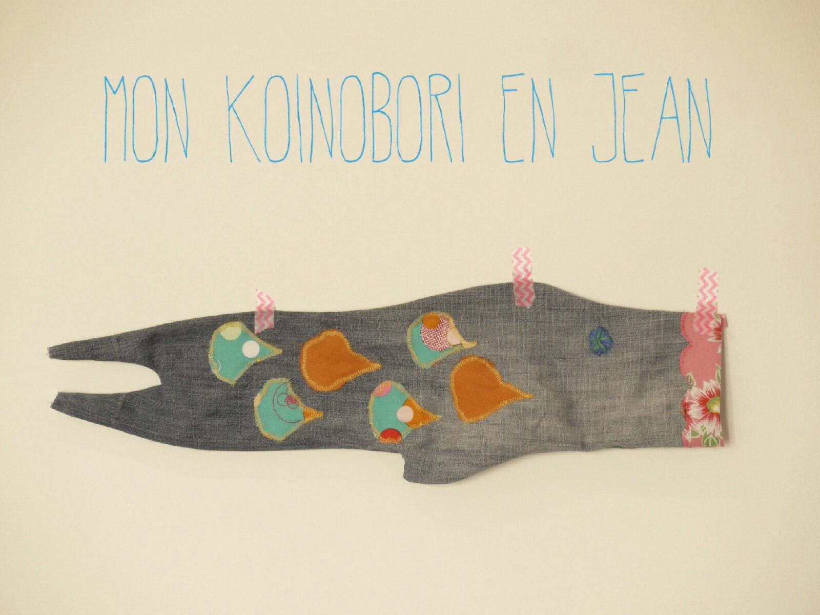 fabriquer koinobori poisson japonais