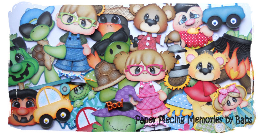 Paper Piecing Memories by Babs