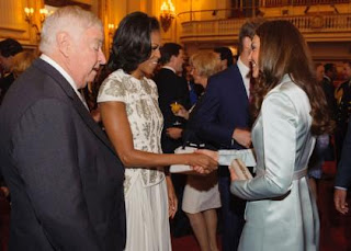 Heads of State Flock to Buckingham Palace Reception » Gossip | Michelle Obama | Kate Middleton
