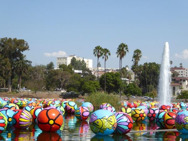 Colourful Spheres MacArthur Park 2015