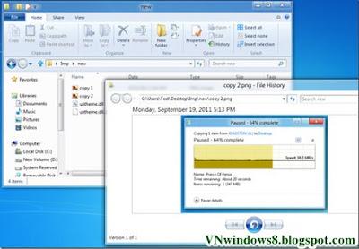Hướng dẫn Khôi phục dữ liệu với File History trong Windows 8