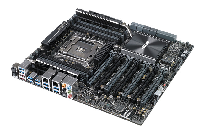 ASUS X99-E WS Workstation Motherboard Review screenshot 1