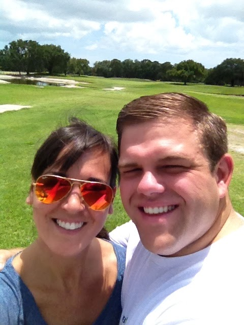 Mike and I at Bobby Jones Golf Course Sarasota