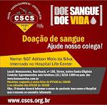 Doação urgente de sangue!