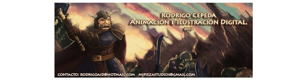 Rodrigo Cepeda Animador e Ilustrador Digital