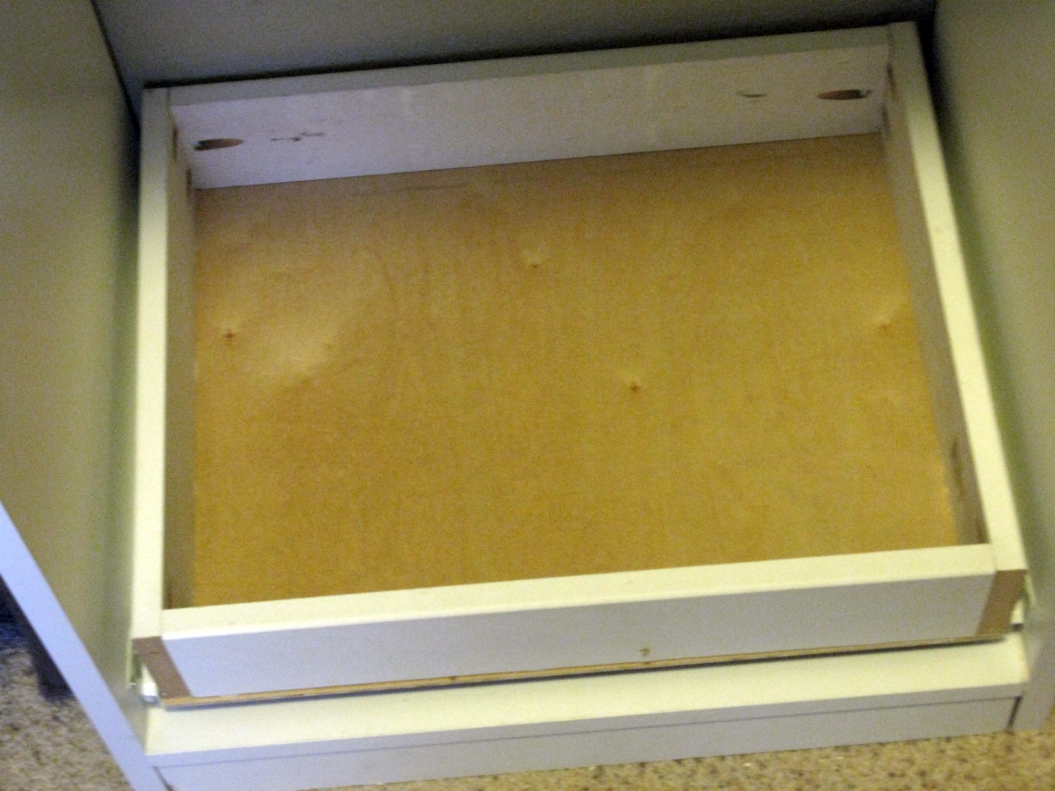 I Then Added A Frame To Support The Door That I Made…