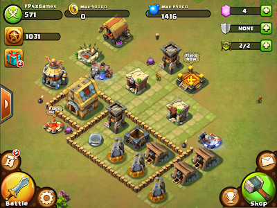 Castle Clash IOS game like Clash of Clans