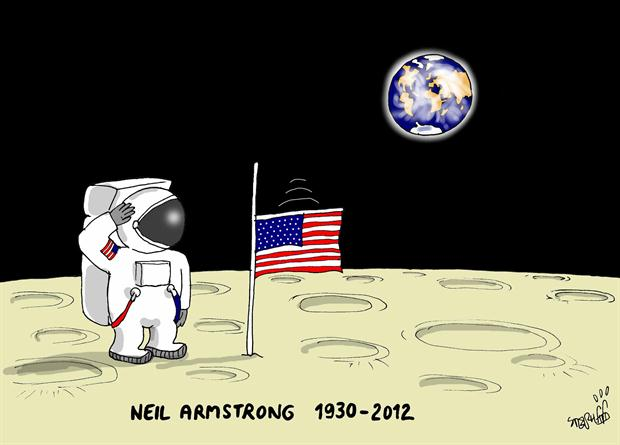 neil armstrong name animated - photo #3