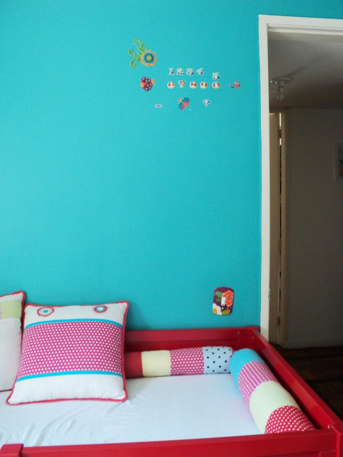 Quarto Infantil Azul Turquesa Redival Com