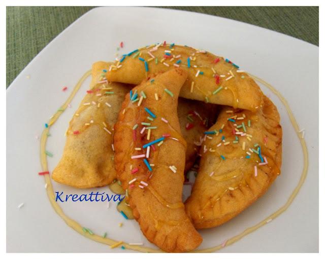 Panzarotti dolci di carnevale