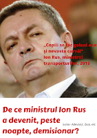 Ion Rusu mininistru