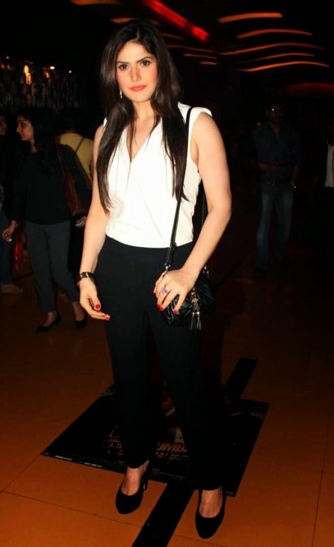 zarine khan latest hot photos