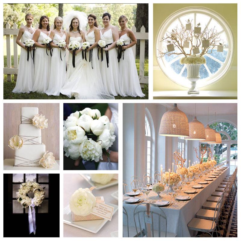 Fairytales Amp Chandeliers Wedding Colors 2012