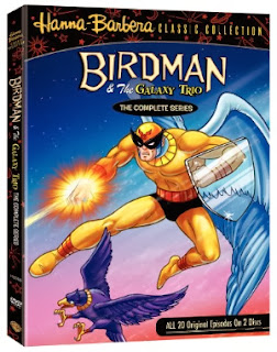Hanna-Barbera Birdman DVD