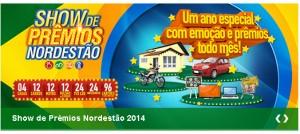 Promoção Supermercados Nordestão 2014