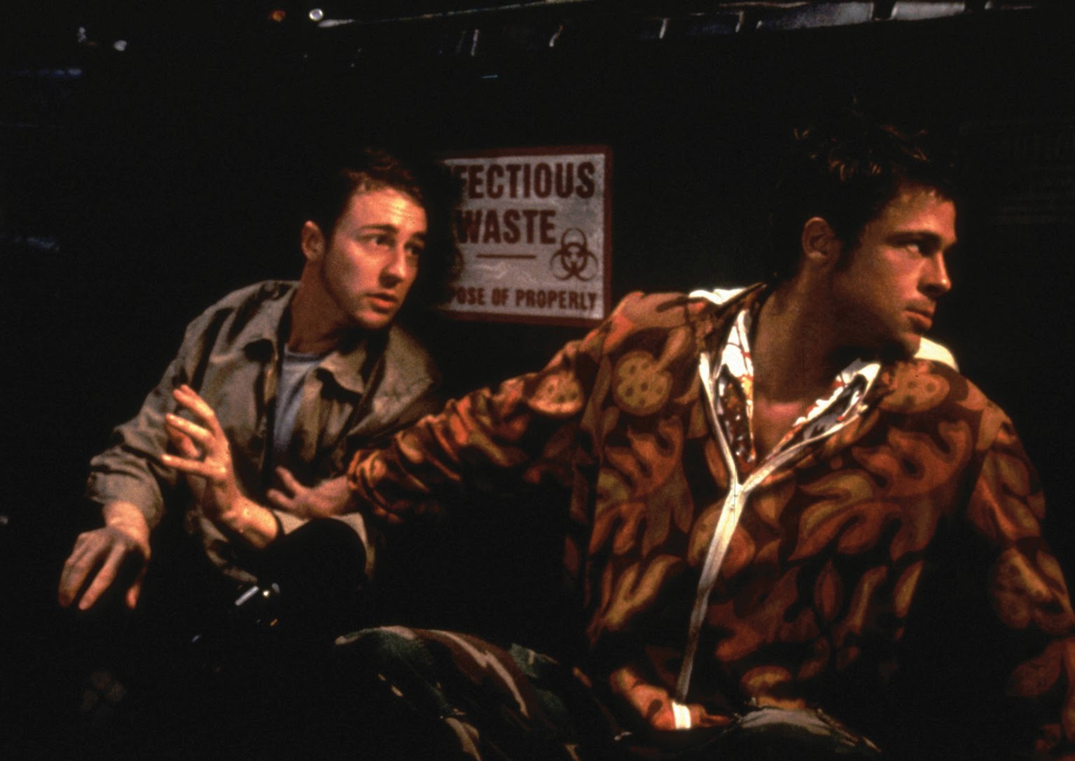 review of fight club Fight club movie reviews & metacritic score: the film's narrator (norton) attends  support groups of all kinds as a way to experience something within his u.