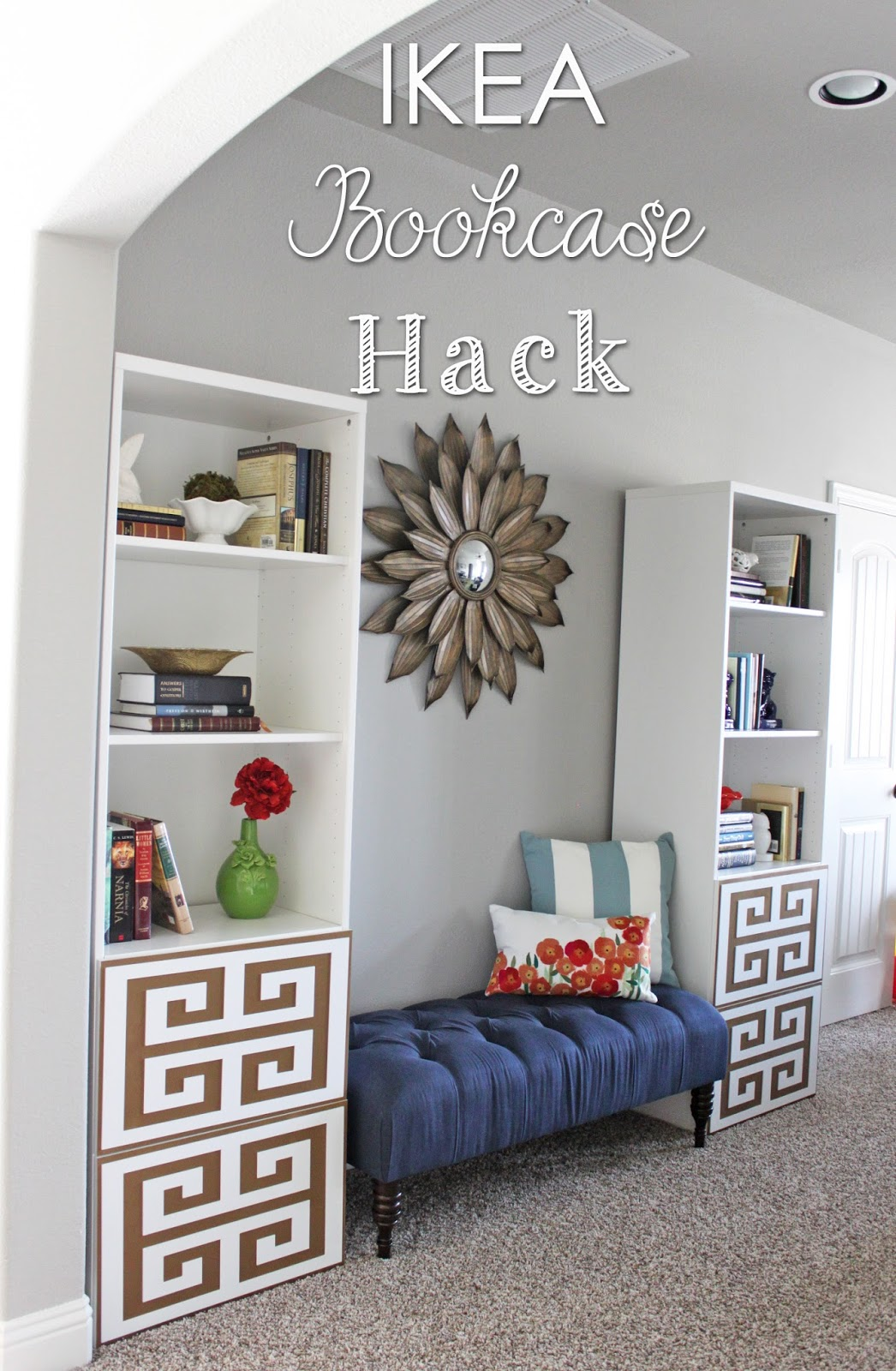 Superb IKEA Bookcase HACK