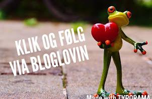 Få besked om nye indlæg via bloglovin