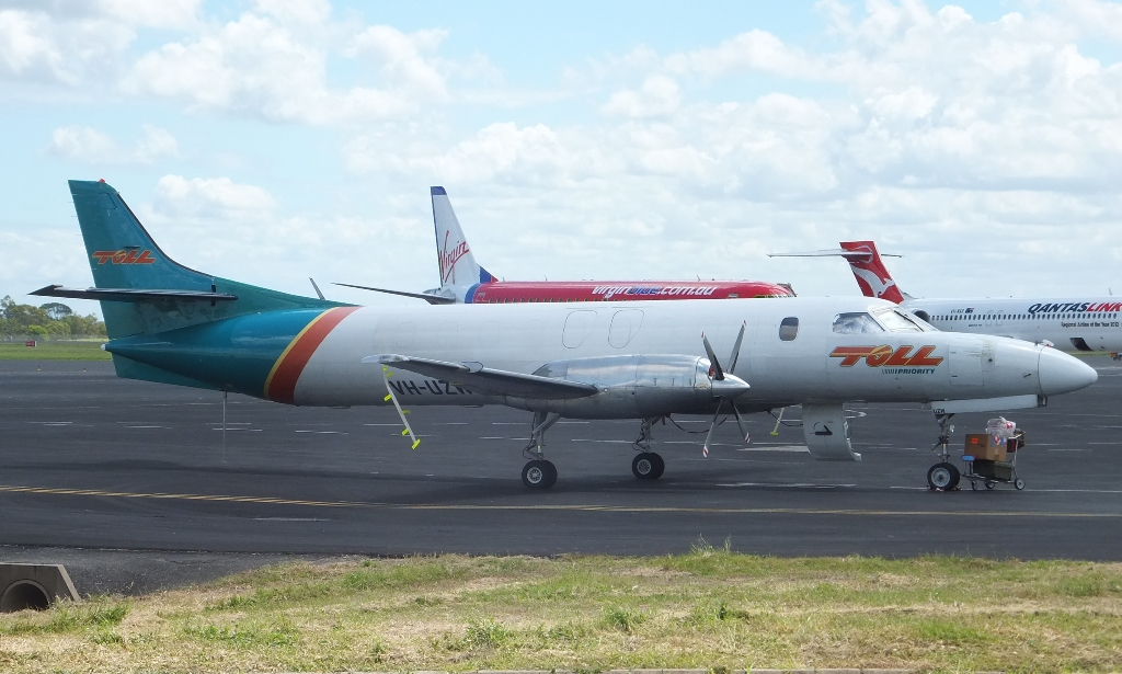 Central Queensland Plane Spotting Toll Freight Aviation Metro Vh