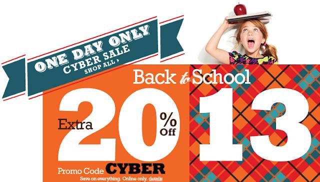 Kohl's Back to School Cyber Sale