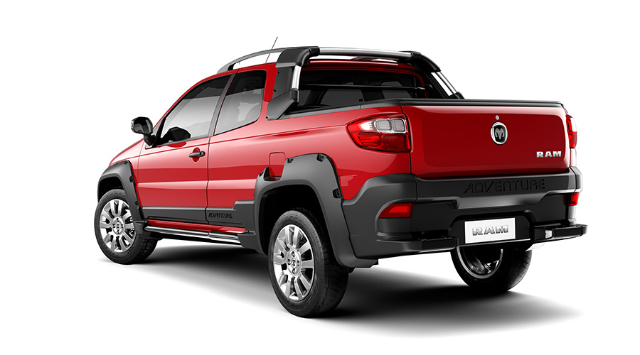 Fiat Strada Turns Into The Ram 700 For Mexico Carscoops Com