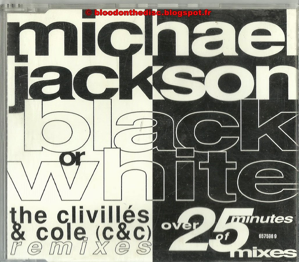 Black Or White pochette avant maxi cd