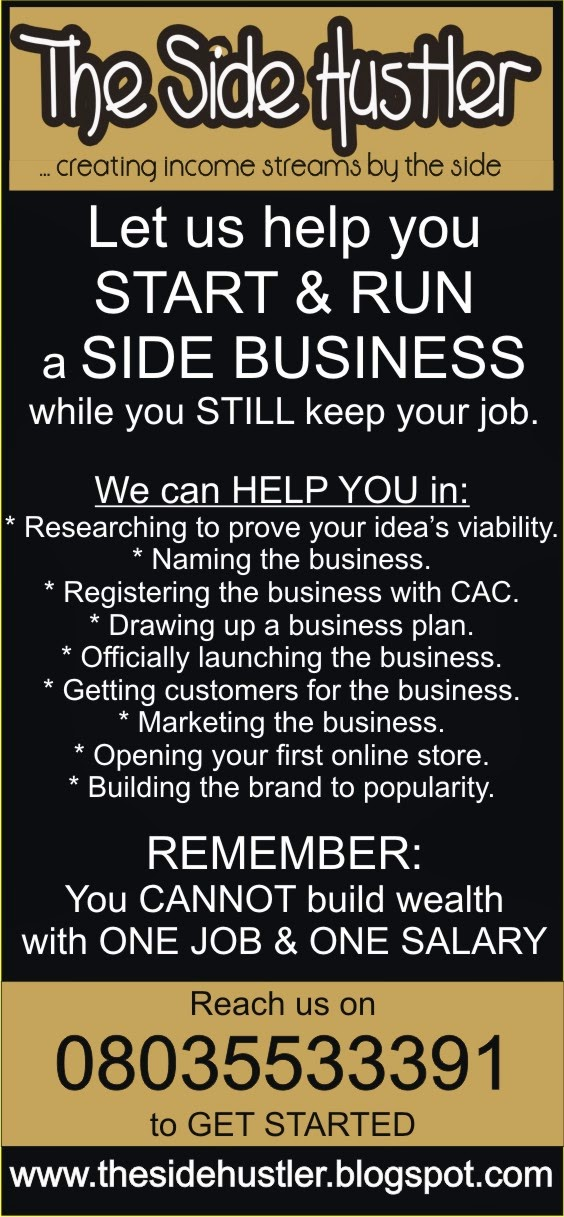 Let Me Help You With Your SIDE HUSTLE