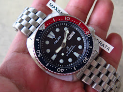 SEIKO DIVER NEW TURTLE-SEIKO DIVER SRP779-BLACK DIAL-PEPSI BEZEL WITH ANVIL BRACELET-AUTOMATIC 4R36