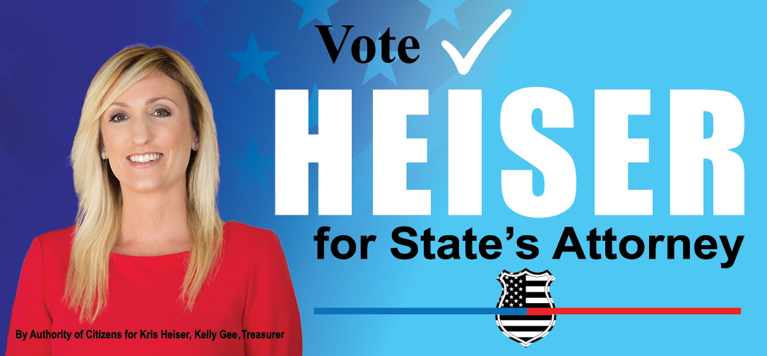 Vote Kris Heiser For Worcester County  State's Attorney