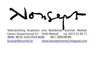 Ook uw logo op deze blog? Vanaf  125€ bent u sponsor en erelid! Mail naar konsept@telenet.be
