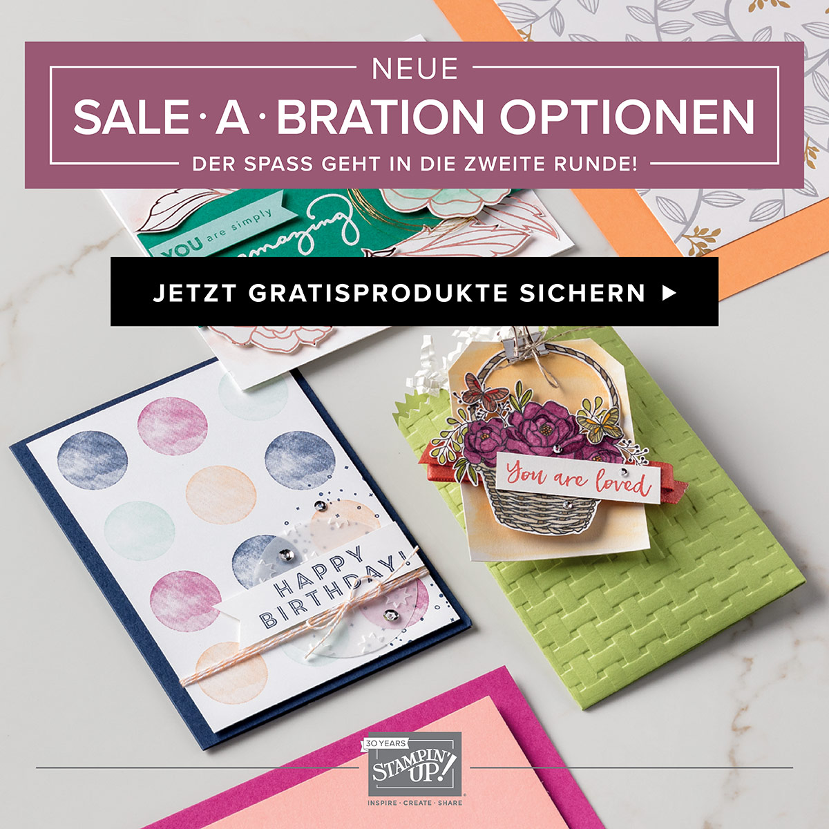 Sale-A-Bration geht in die 2. Runde!