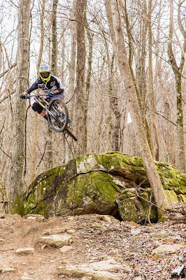 mountain biker, mountain bike, mtb, rock jump, Tennessee