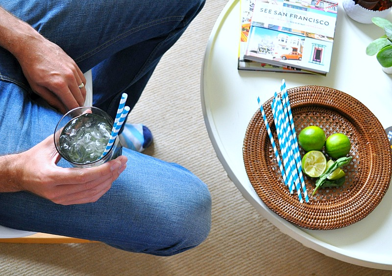 make a mojtio with the #letscocktail challenge
