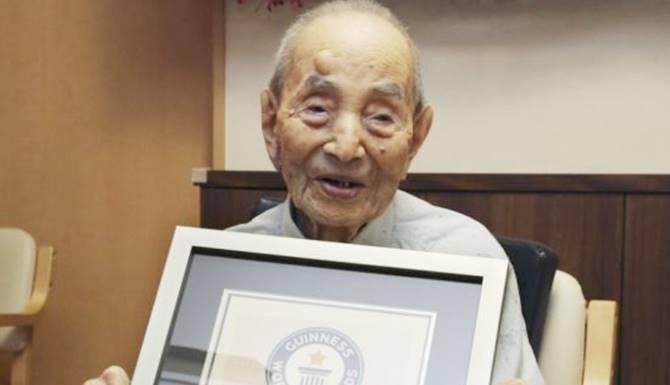 orang tertua jepang