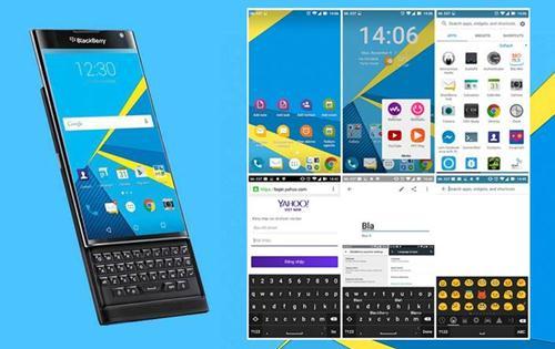 rasakan tampilan blackberry priv di android