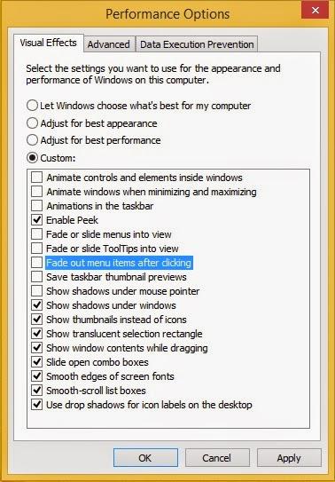 Cara Mempercepat Performa Windows 8.1