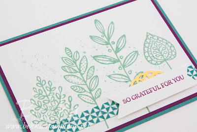Lighthearted Leaves from Stampin' Up! UK get it here from 1 September 2015