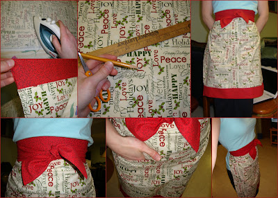DIY Apron; Christmas Crafts