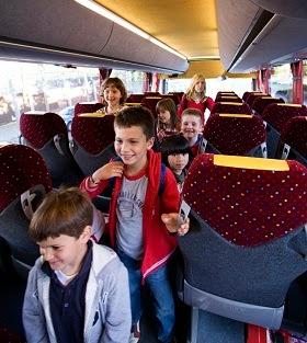 Ventajas de las rutas escolares en autobús