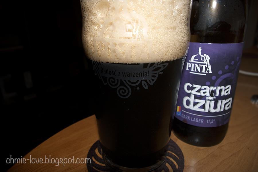 pinta, czarna dziura, dark lager
