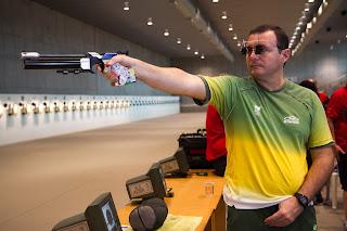 Julio Almeida - Pistola de Ar - Tiro Esportivo