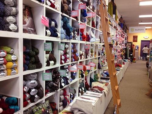 Knitting Unlimited Minneapolis : Minnesota yarn shop hop
